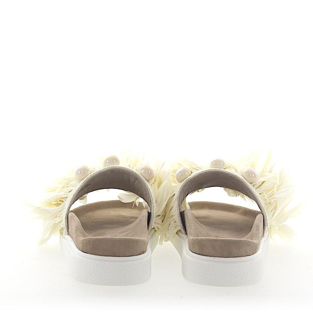 Sandalen Perlen WeißSchuheamp; Inuikii Handtaschen Kalbsleder roWCxBed