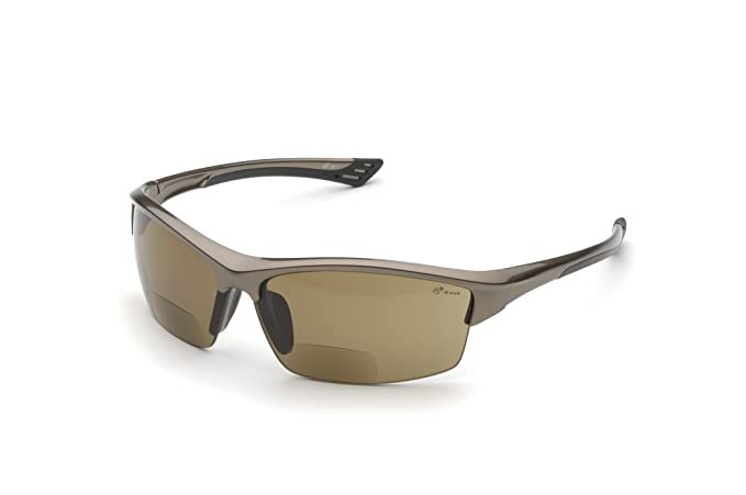 42a3e0ce1c Elvex WELRX350BR10 RX-350BR-1.0 Diopter Safety Glasses, Brown Lens:  Amazon.com.mx