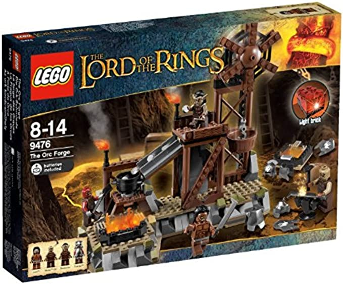 LEGO Lord Of The 9476 Rings The Orc Forge