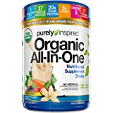 Meal Replacement Shake, Organic | Purely Inspired All-in-One Meal Replacement | Plant Based Protein Powder for Women & Men |