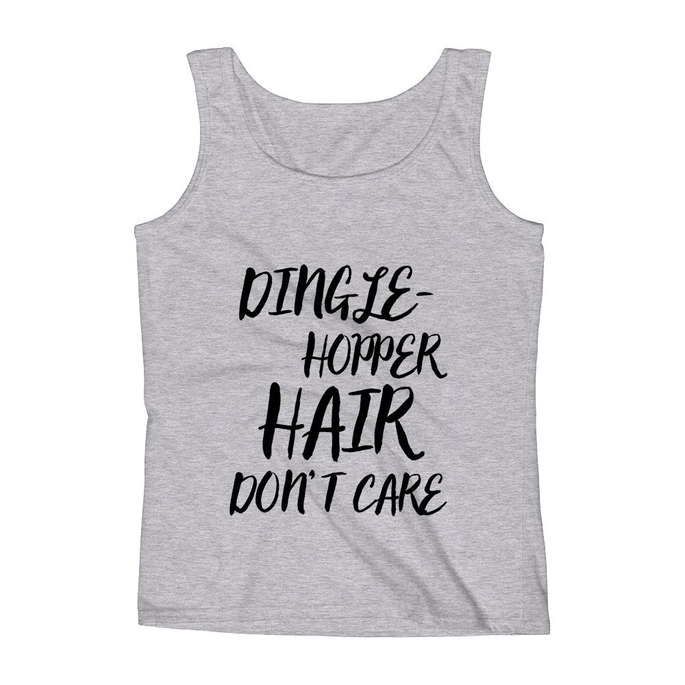 Mad Over Shirts Dingle Hopper Hair Dont Care Unisex Premium Tank Top