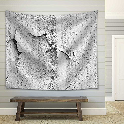 Old Grunge Obsolete Wall Background Texture Image Fabric Wall Tapestry