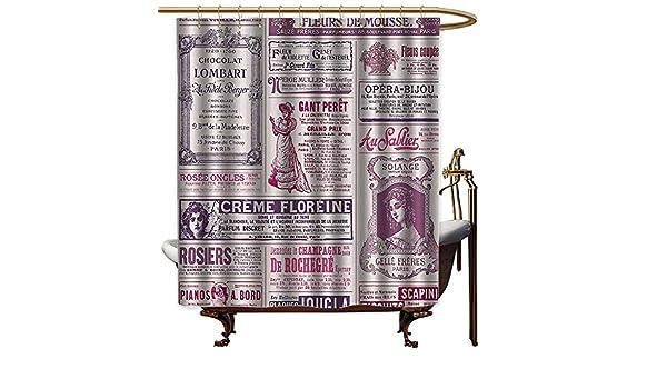 Godves - Cortinas para mamparas de ducha, decoración de periódicos ...