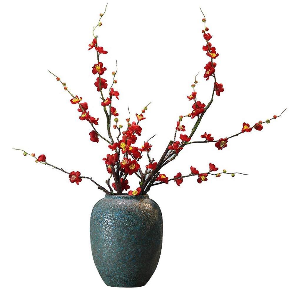 セラミック花瓶用花緑植物結婚式の植木鉢装飾ホームオフィスデスク花瓶花バスケットフロア花瓶 B07RJHD4P7