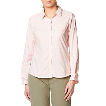 Craghoppers Womens/Ladies Adoni Insect Repellent Long Sleeve Shirt Fih3KsnguD