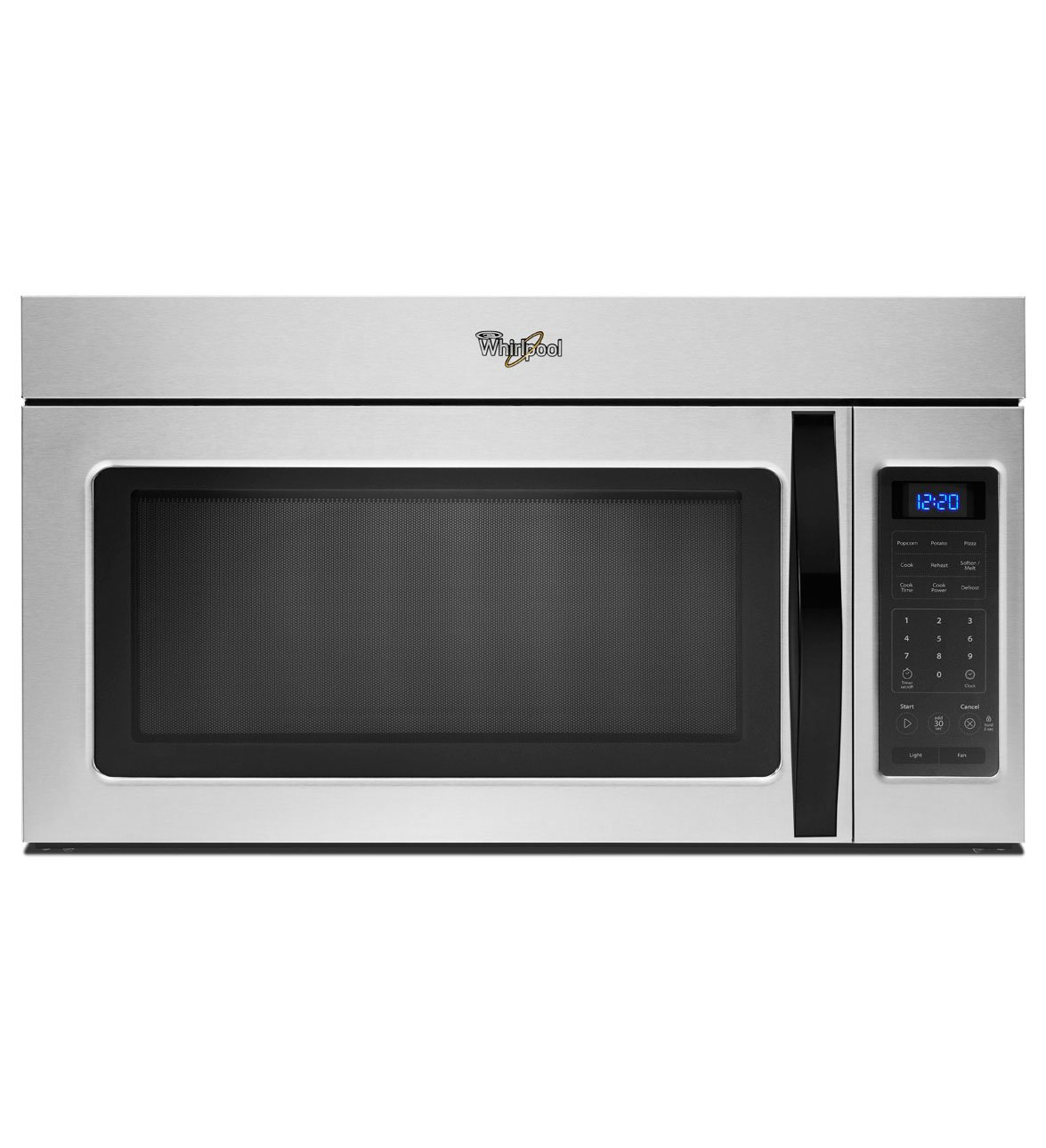 Whirlpool WMH31017AD 1.7 Cu. Ft. Stainless Look Over-the-Range Microwave