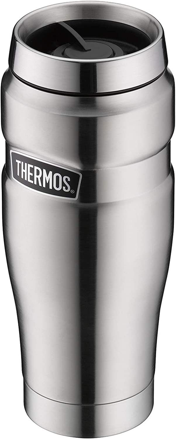 Isoliertrinkbecher Cold Cup Black 0,47 l Thermos en Acier Inoxydable Paroi Smoothie