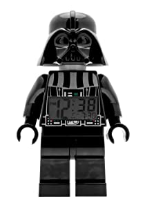LEGO Watches Star Wars Darth Vader Kids Minifigure Light Up Alarm Clock Review