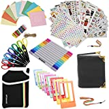 Holiday Accessory Gift Bundle for HP Sprocket, Prynt Instant Printer - Pouch + Edged Scissors + Album + 10 Color Frames + 7 Colorful Sticker Sets + Twin Tip Markers + Hanging Frames +Neck/Hand Strap