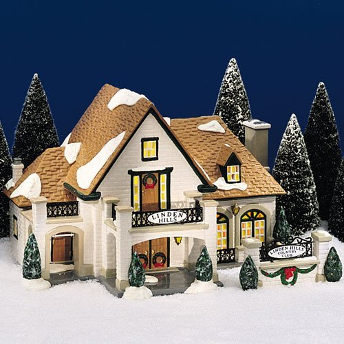 Department 56 Original Snow Village ''Linden Hills Country Club''