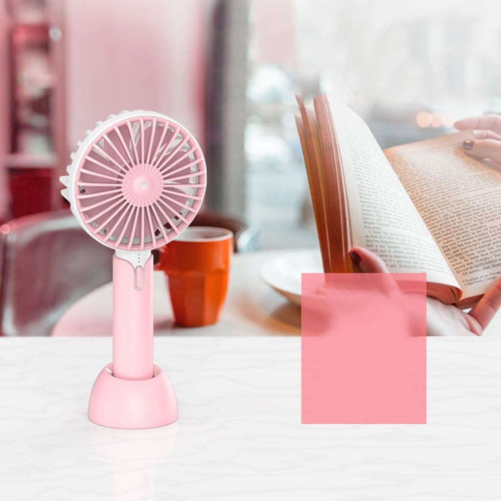 Philoween Hot Portable Rechargeable Fan Air Cooler Operated Hand Held USB 18650 Battery