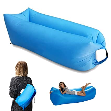 Amazon.com: Sofá inflable portátil impermeable ...