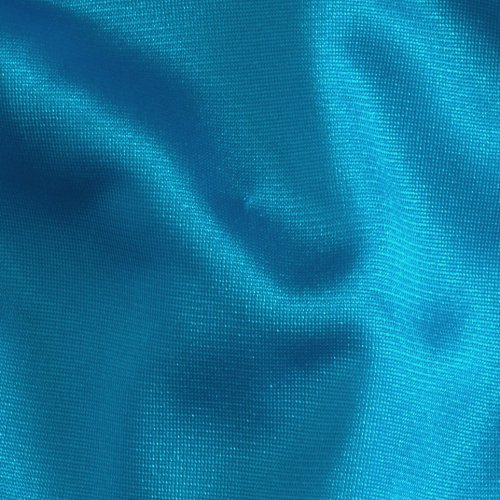 108in 40 Denier Tricot Turquoise Fabric By The Yard Fabric Nylon Tricot