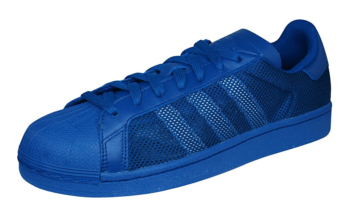 promo code 6526b f16be Amazon.com   adidas Originals Superstar Triple Mens Sneakers Shoes-Blue-8.5    Fashion Sneakers