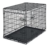 Petmate 34-Inch 2-Door Training Retreats Wire Kennel for Dogs, 50 to 70-Pound For Sale