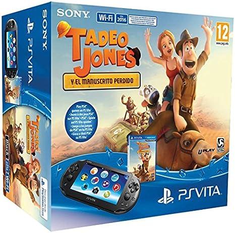 PlayStation Vita - Consola + Tadeo Jones Y El Manuscrito Perdido: Amazon.es: Videojuegos