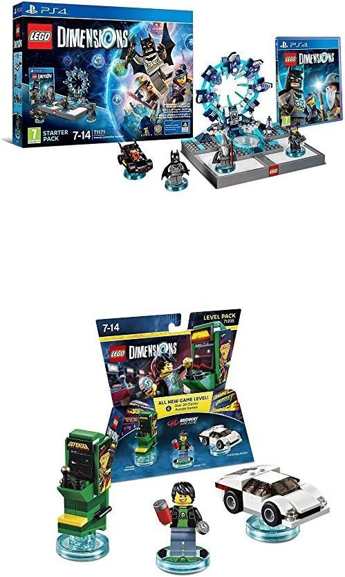 LEGO - Starter Pack Dimensions (PS4) + LEGO Dimensions - Midway, Gamer Kid: Amazon.es: Videojuegos