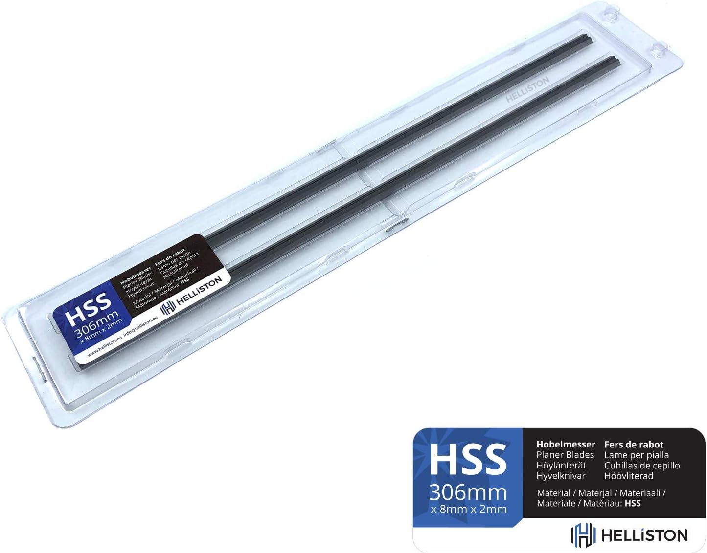 HSS Hobelmesser 2012NB Wendemesser 306mm f/ür Makita 2012 2 Satz = 4 Hobelmesser