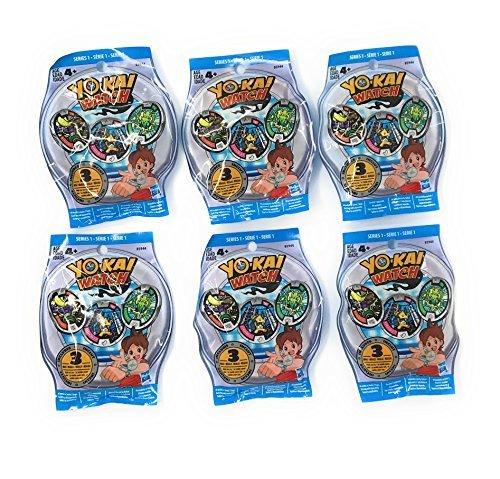 Snap Watch Series (6 Blind Bags: Yo-Kai Watch Series 1 Medals - 18 Random Medals)