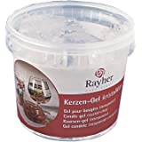 Rayher Candle Gel for Candle Making, Clear Candle Crafting Gel Wax, 750g
