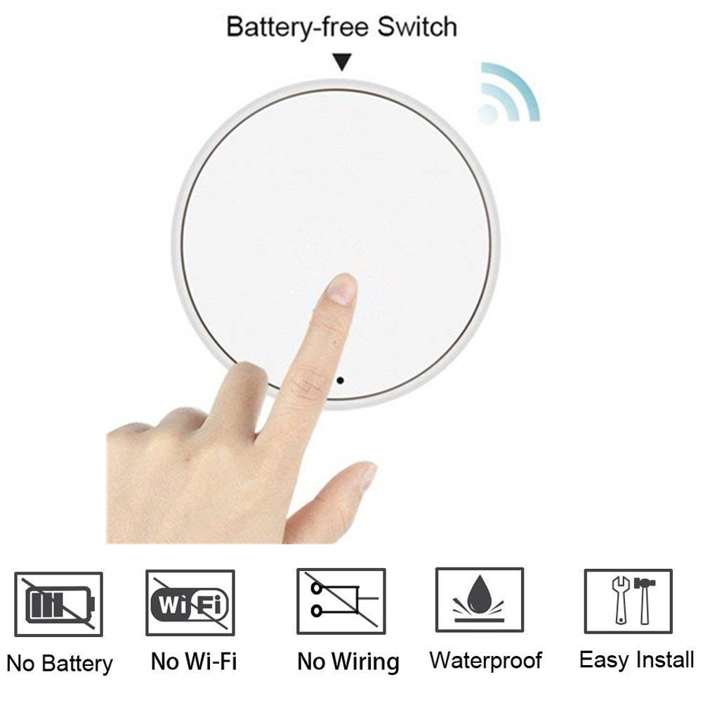 Garbage Disposal Wireless Switch Kit No Battery Wiring Self To Light Free Download Powered Button For Counter Top Waste Or Food Residue