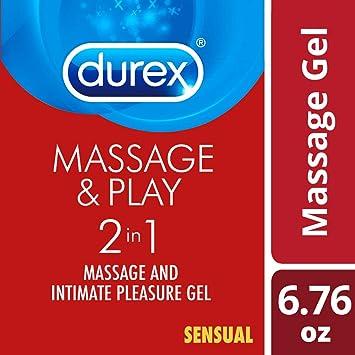 Lubricant, Durex Massage Gel & Personal Lubricant, Durex Massage & Play 2  in 1 Lubricant, Sensual Ylang