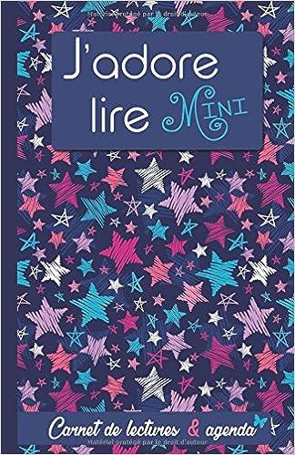 Jadore lire Mini: Carnet de lectures & agenda (Les carnets ...