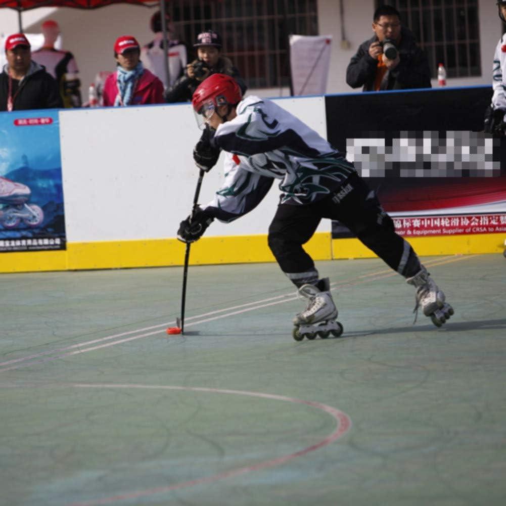 Leezo Tightener Skate Tie Hold Asa PP Plegable Dise/ño Ergon/ómico Traje para Figura Patines Hockey Skate Herramienta Universal Unisex Cordones Extractor
