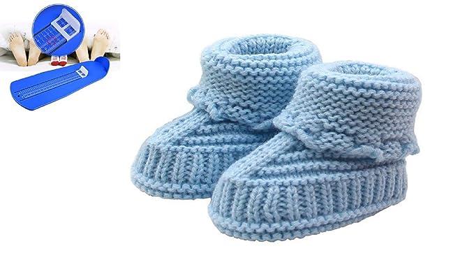 d8fef401ed59d Amazon.com: TP Baby Booties with FREE Feet Measuring Gauge - Newborn ...