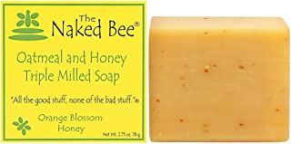 product image for The Naked Bee Orange Blossom Honey Triple Milled Soap, 2.75 Ounce
