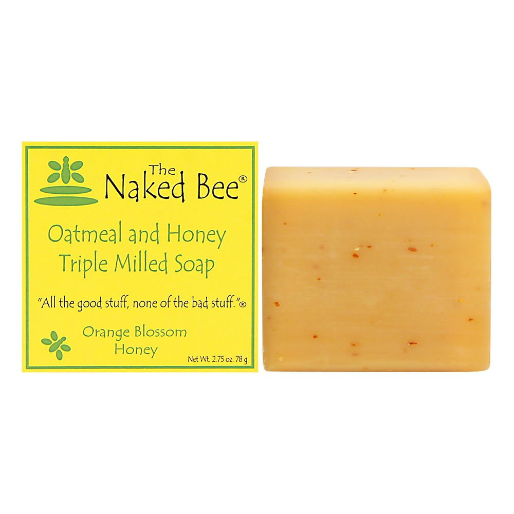 The Naked Bee Orange Blossom Honey Triple Milled Soap, 2.75 Ounce