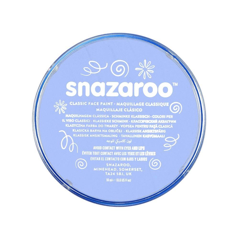 Snazaroo 1118355 Classic Face Paint, 18ml,Sky Blue B000LWGI30
