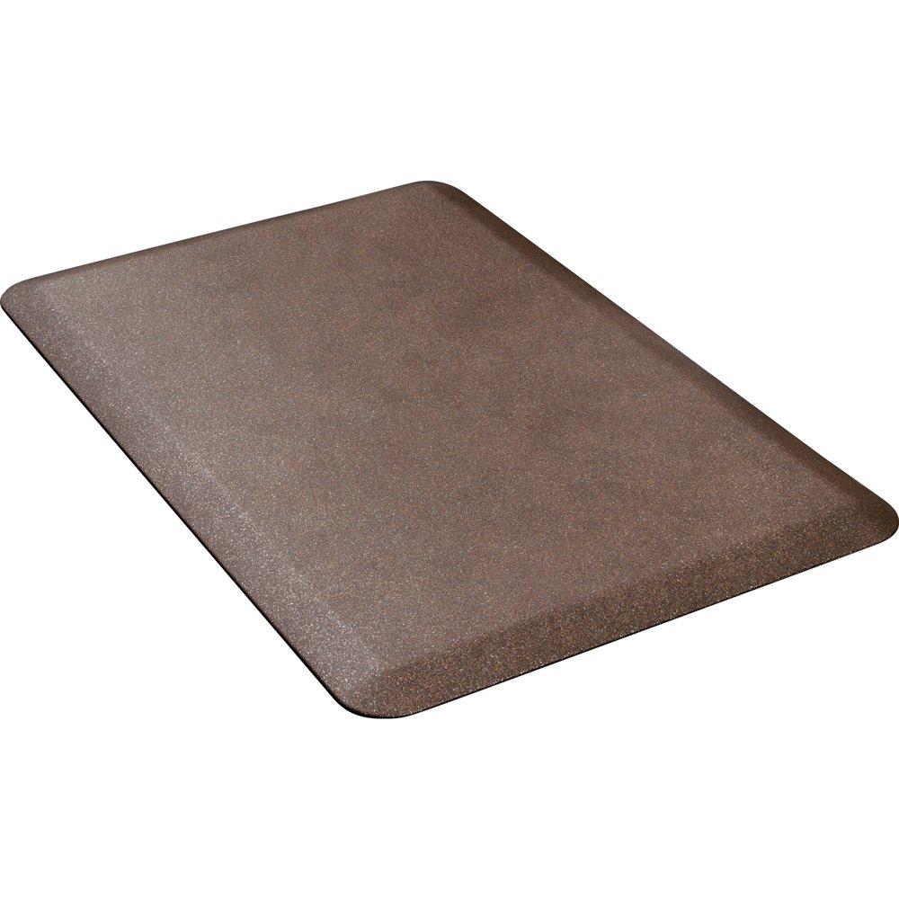 WellnessMats Anti-Fatigue 36 Inch by 24 Inch Granite Motif Kitchen Mat, Copper by WellnessMats (Image #2)