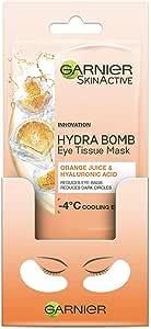 Garnier SkinActive Eye Tissue Mask Hyaluronic Acid and Orange Juice