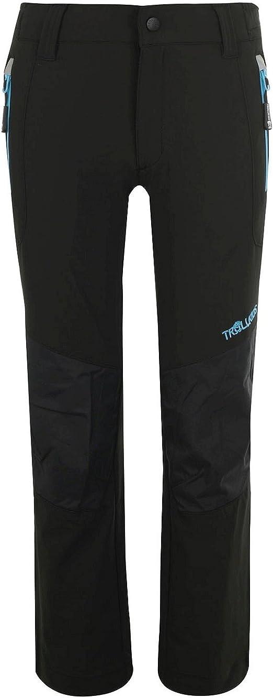 TROLLKIDS Pantalones de Chándal Lysefjord, Color Negro/Azul Medio ...
