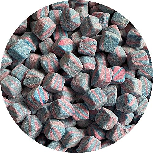 Kola Cubes Pineapple Apple Tutti Fruiti Raspberry Pick N Mix Retro Sweets (Bubblegum Cubes, 500 Grams)