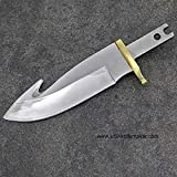 Cheap Hunting Knife Blade 027 – 440C Steel – 5 1/2″ OAL