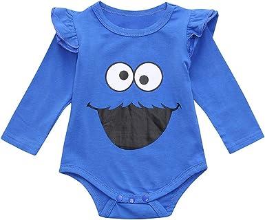 FELZ Recién Nacido bebé niña niño Recien Nacido Niña 0 a 18 Meses Body de Manga Larga Mameluco de Dibujos Animados Otoño Pijamas Bebe niña niño Body Infantil para bebés: Amazon.es: Ropa