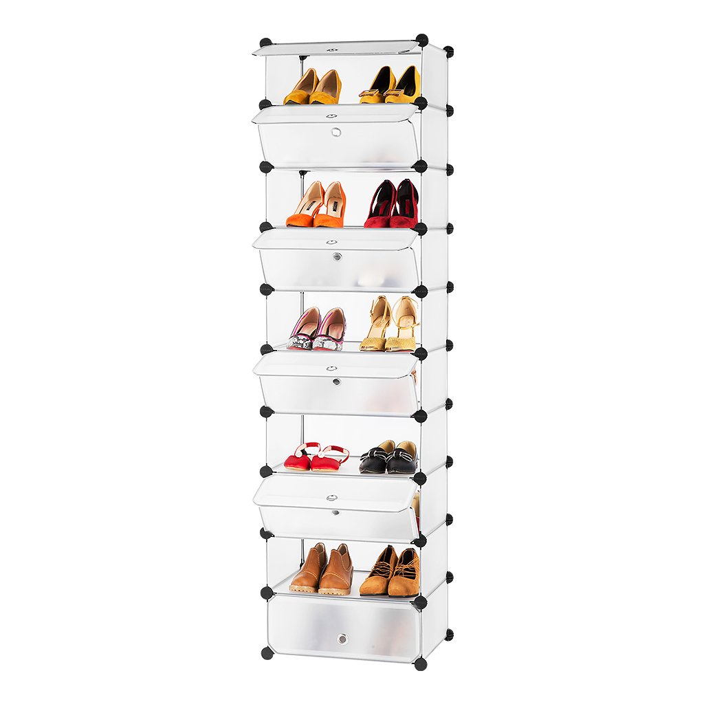 Langria penderie etag re chaussures modulable diy 12 - Rangement chaussures penderie ...