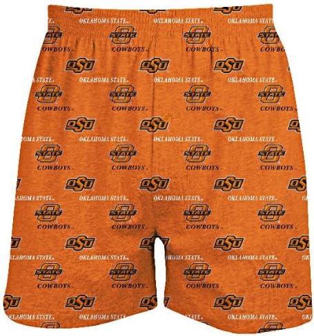 Concepts Sports Oklahoma State Cowboys Mens Prospect Boxer Shorts