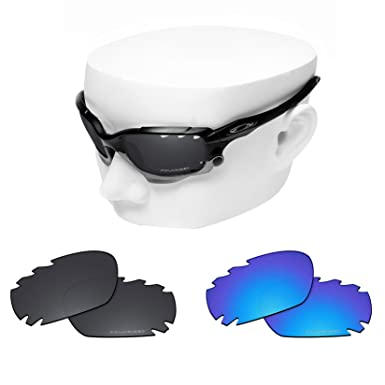 5776916b499 Image Unavailable. Image not available for. Color  OOWLIT 2 Pair Replacement  Sunglass Lenses compatible with Oakley Jawbone Vented POLARIZED
