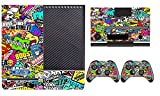 2612 Game Room® : Anime Graffiti Sticker Bomb Vinyl Sticker - Designer Xbox One Vinyl Skin Console with Two Wireless Controller Decals offers