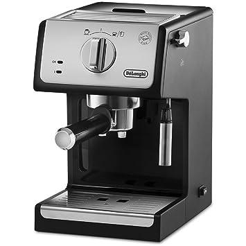 De Longhi ecp33.21 máquina de café espresso manual Capacidad 1.1 L potencia 1100 W) negro, plata: Amazon.es: Hogar