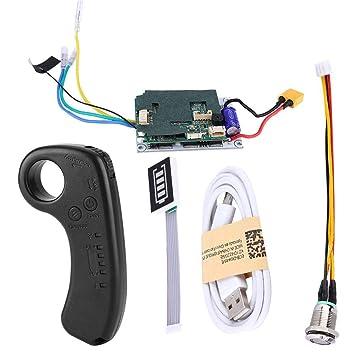 Tbest Controlador de Monopatín Eléctrico, Mini Receptor de ...