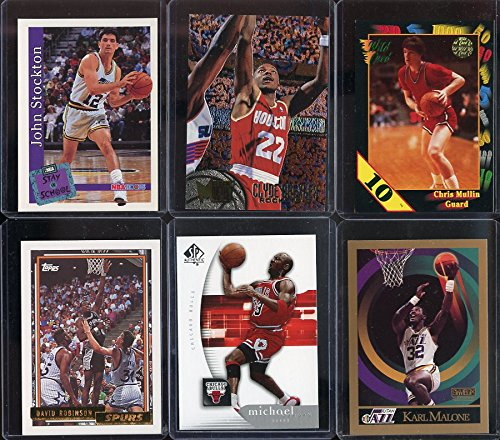 - Basketball Card 1992 Olympic Dream Team NBA Card Lot Includes every Player from the greatest team ever assembled ! Every card will be sleeved and cased it its own holder. Perfect for Gift Giving. Every lot will include a Michael Jordan , David Robinson , Karl Malone , John Stockton , Clyde Drexler , Chris Mullin , Scottie Pippen , Patrick Ewing , Charles Barkley , Magic Johnson , Larry Bird & Christian Laetner NBA Basketball Card !