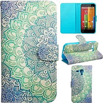 Moto G Case,Moto G Flip Cover,Gift_Source [Kickstand Flip Case] Wallet Case Leather Flip Cover [Wallet] Shell Cover [Money Card Slot] with Motorola Moto G (1st Gen only) Case [Violet]