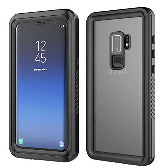 cheaper 5f4f2 1d7ab Moonmini Galaxy S9 Plus Waterproof Case, For Samsung Galaxy S9 Plus Ultra  Slim 360 Degree Protection Case Waterproof Dustproof Shockproof Anti  Scratch ...