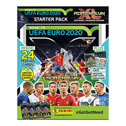 Panini Road to Euro 2020 Adrenalyn XL Starter Pack (Euro 2019 Best Player)