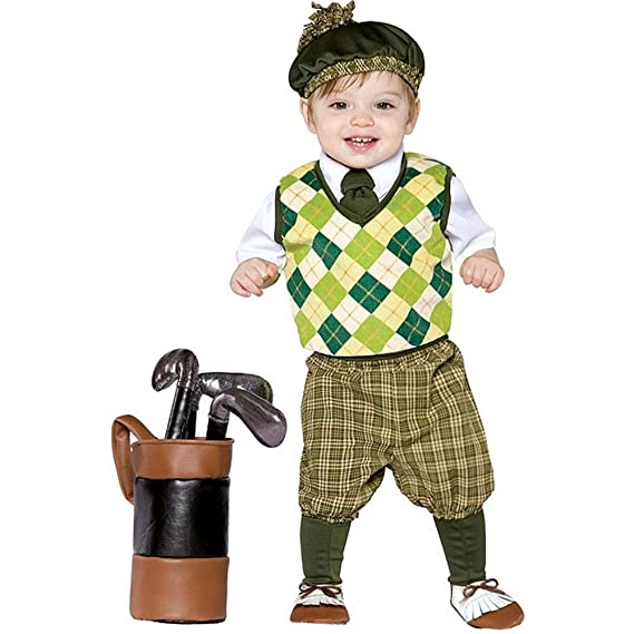 Vintage Style Children's Clothing: Girls, Boys, Baby, Toddler Rasta Imposta Future Golfer Costume $44.00 AT vintagedancer.com
