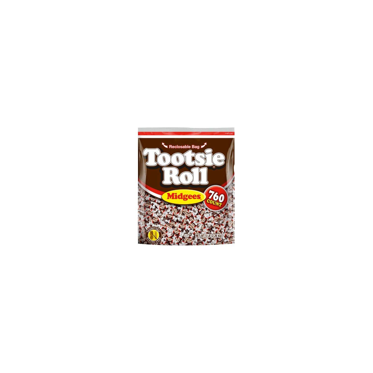 Tootsie Roll Midgees 80 oz, 760 ct. (pack of 3) A1